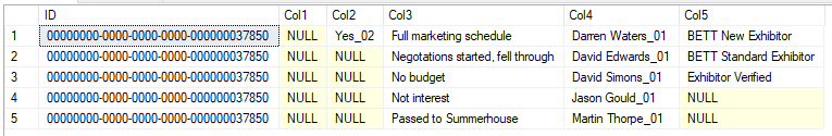 sql server - Merge multiple rows into fewest number of rows