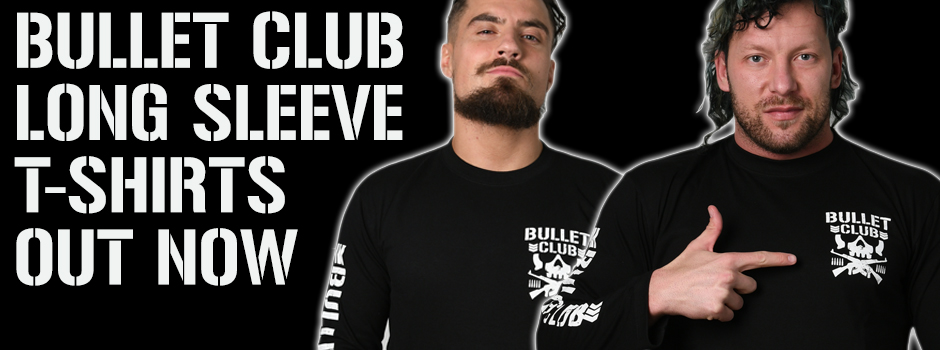 New... BULLET CLUB Long Sleeve tee