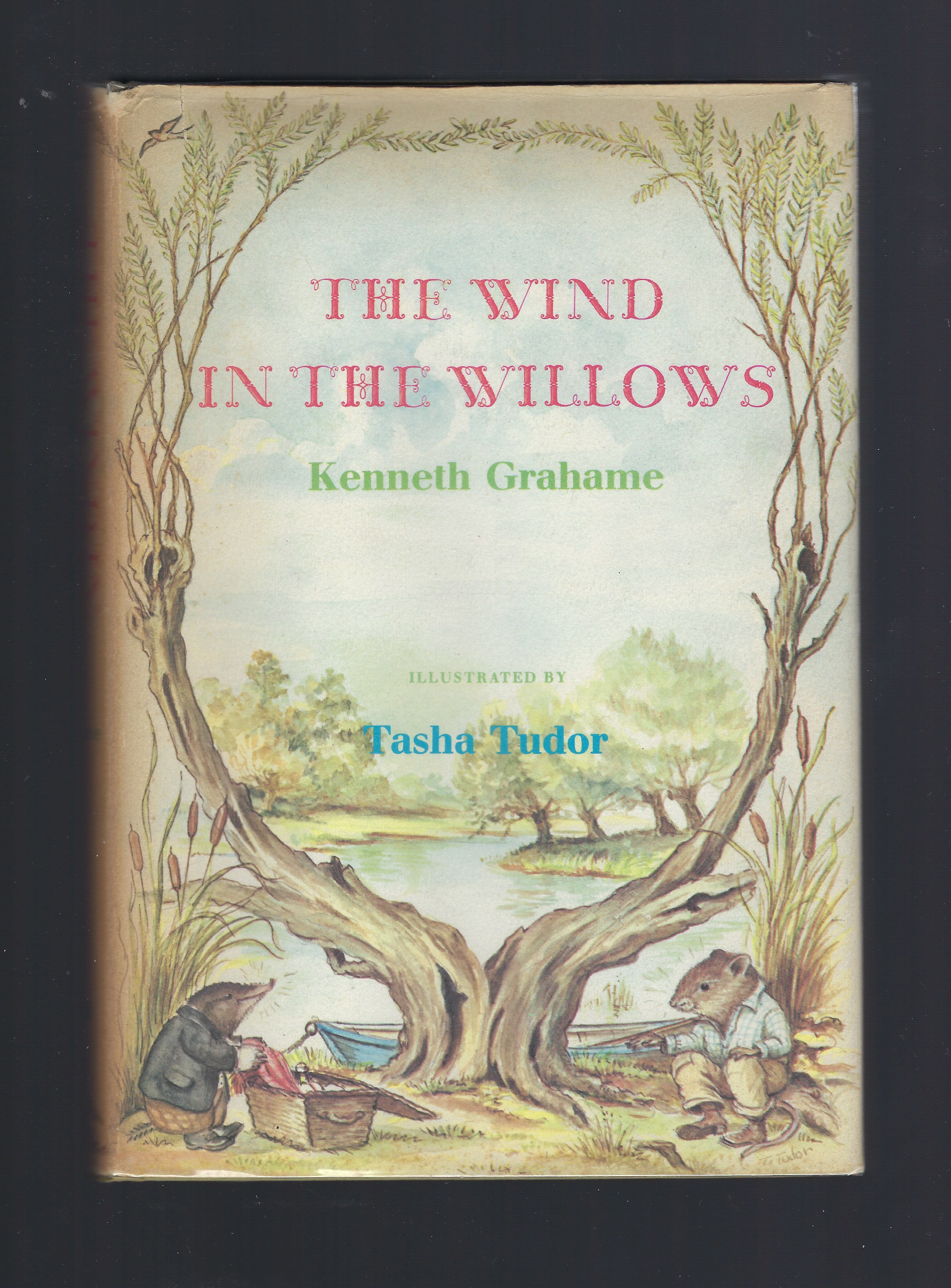 The Wind in the Willows Tasha Tudor 1966 HB/DJ, Kenneth Grahame; Tasha Tudor [Illustrator]