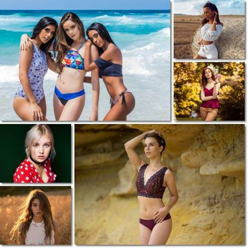 Women Model Photo Pack 195