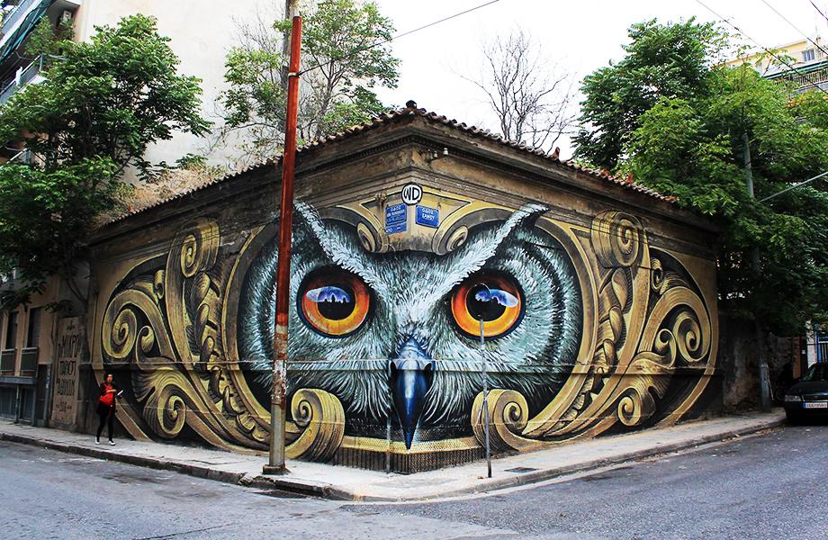 Η τέχνη στις γειτονιές της Αθήνας