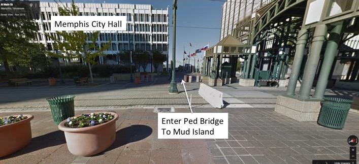 How to enter Pedestrian Bridge
