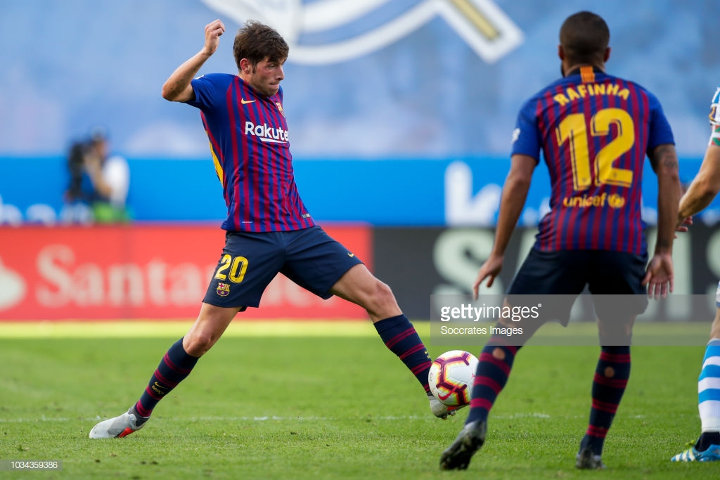 صور مباراة : ريال سوسيداد - برشلونة 1-2 ( 15-09-2018 ) S3