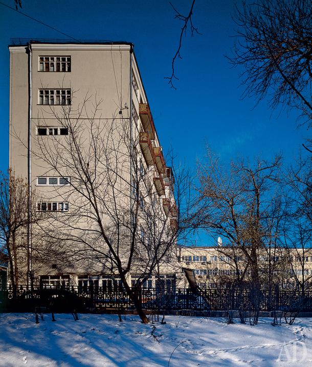 Дом архитекторов на Гоголевском бульваре