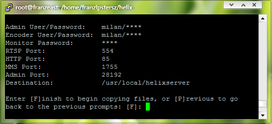 Streaming Media Helix Server Linux Installation and Configuration