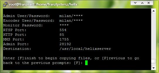 Helix-Server-port-conf