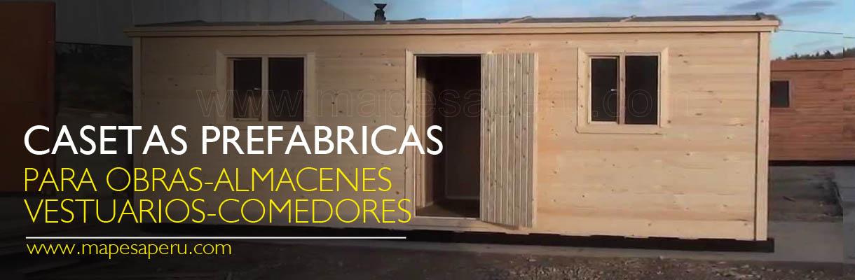 Mapesaperu casetas y m dulos prefabricados casas - Casetas de campo ...