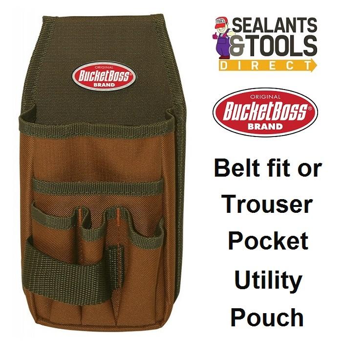 BucketBoss Utility Pouch Tool Belt